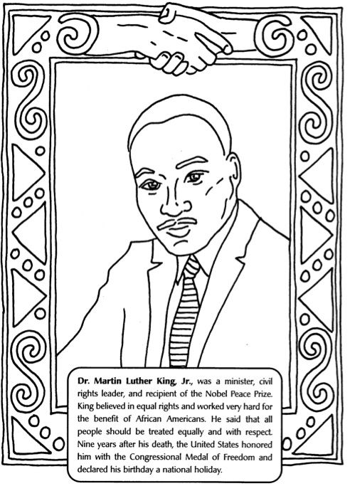 Martin Luther King Worksheet