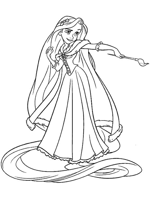rapunzel coloring pages best coloring pages for kids - Rapunzel Coloring Pages To Print