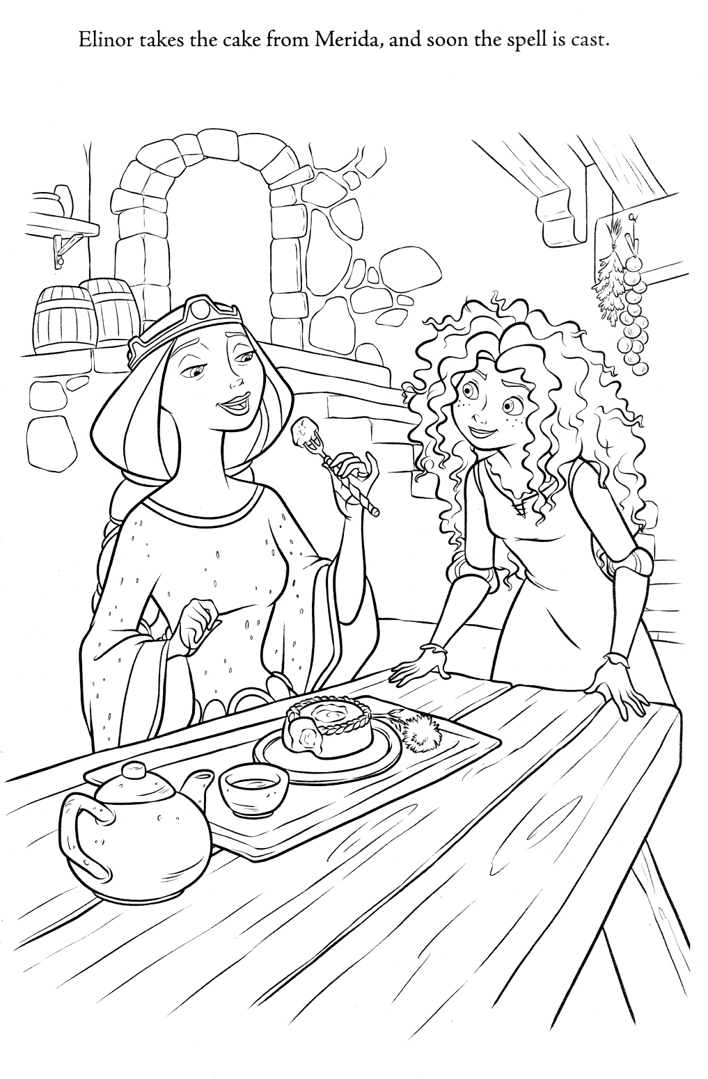 brave coloring pages - photo#9