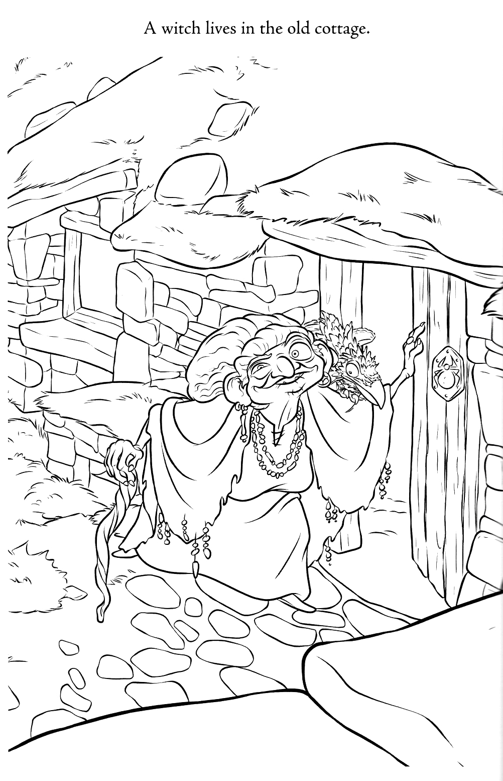 Brave coloring pages best coloring pages for kids for Coloring pages of witches