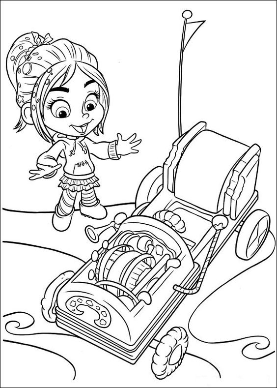 Wreckit Ralph Coloring Pages Best Coloring Pages For Kids