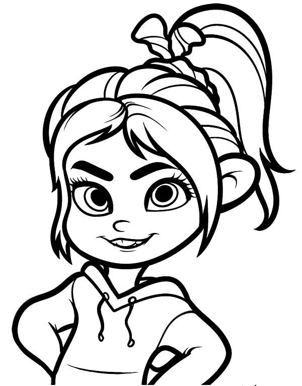 Wreckit Ralph Coloring Pages