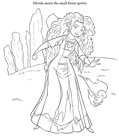 brave coloring pages-#14