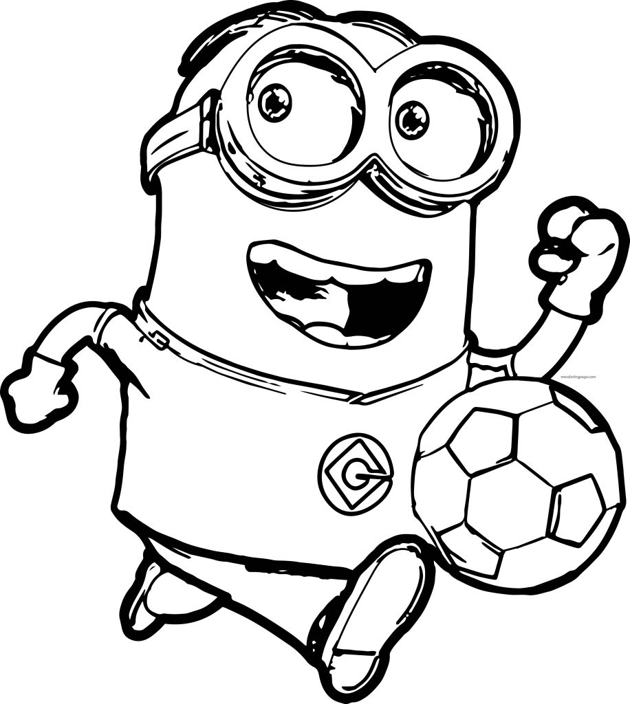 Universal image with regard to minion coloring pages printable