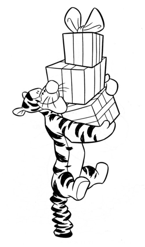 Tigger Coloring Pages - Best Coloring Pages For Kids