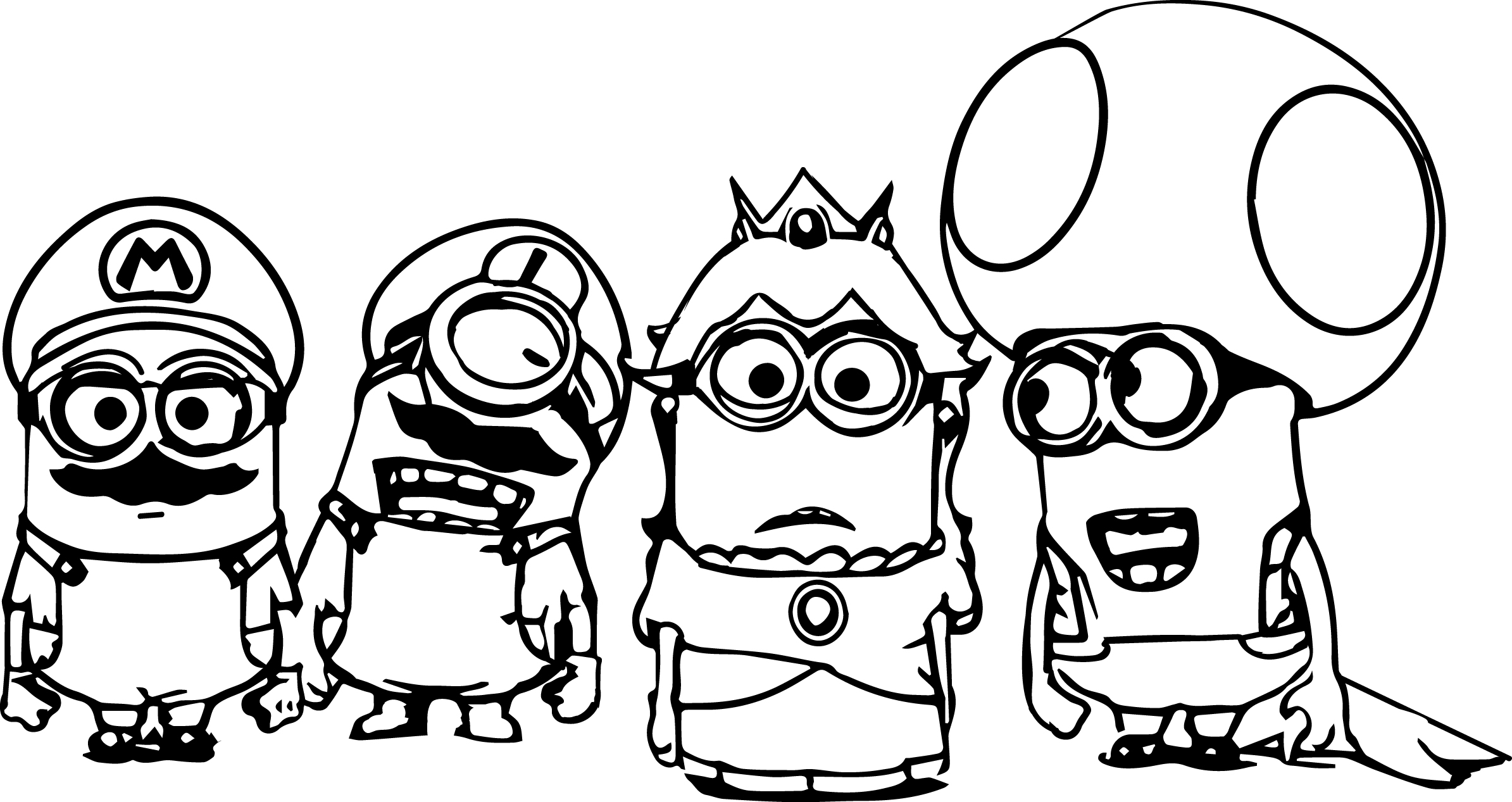 coloring pages minions angen - photo#11