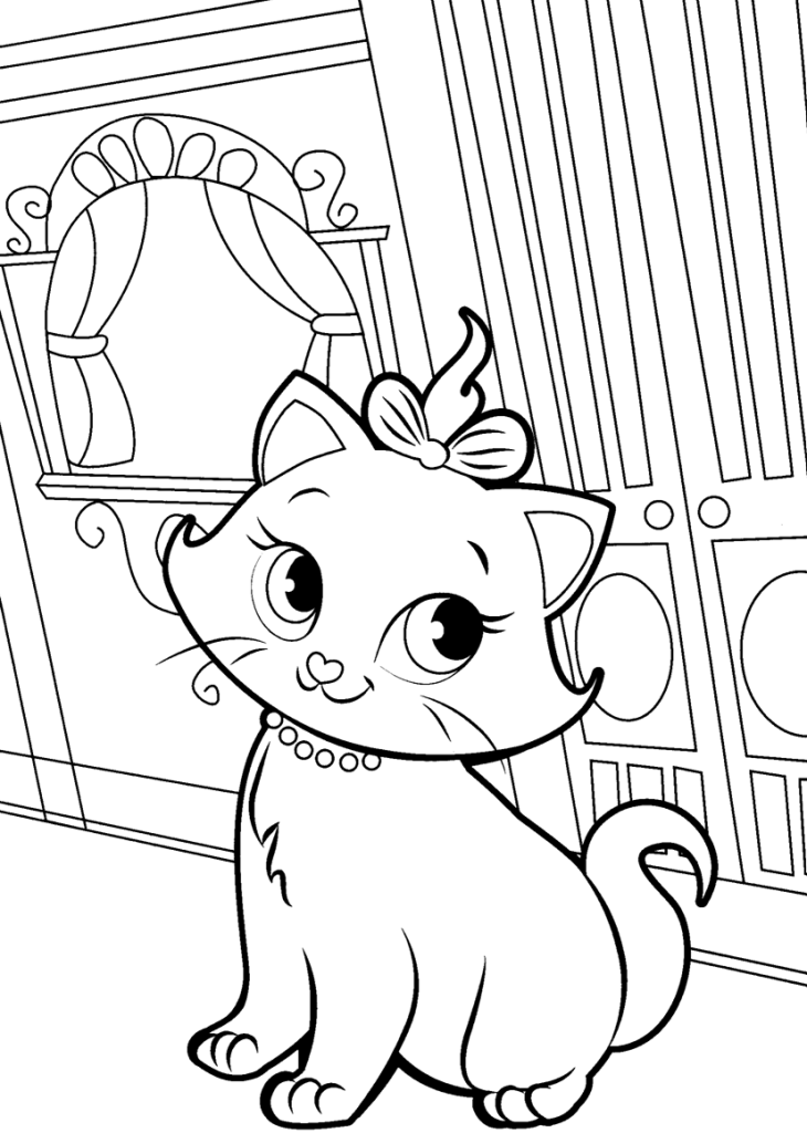 Aristocats Coloring Pages Best