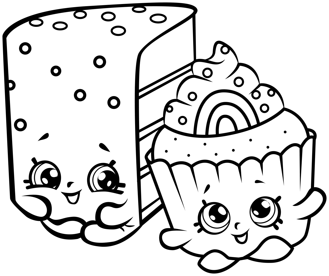 Picture for coloring printable - Shopkins Coloring Pages Printable