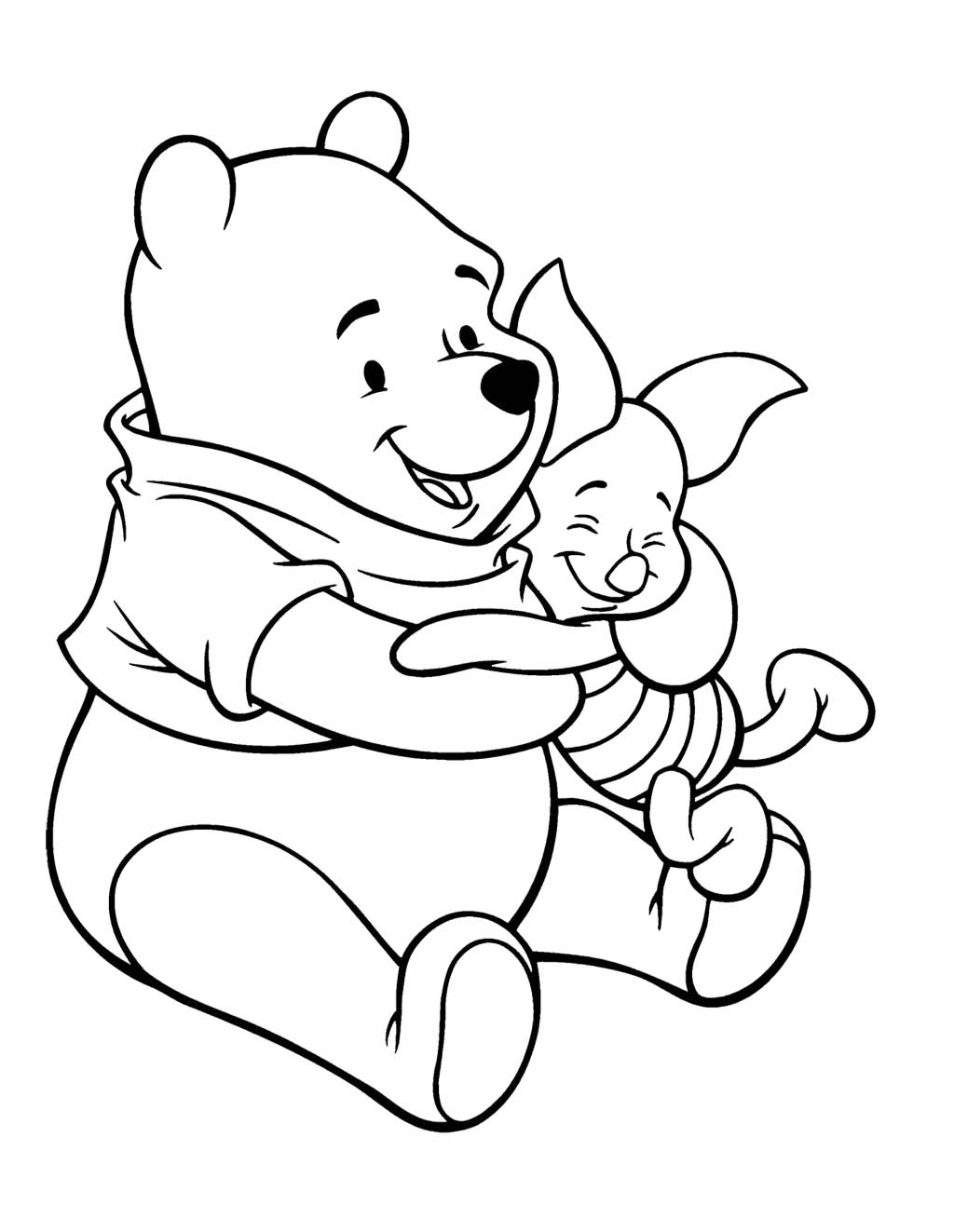 Piglet Coloring Pages Best Coloring