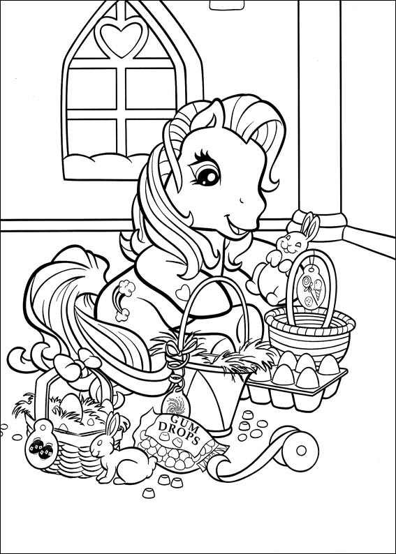 easter basket coloring pages - Easter Printable Coloring Pages