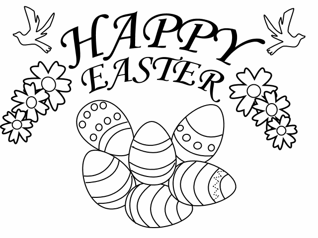 easter coloring pages prinables