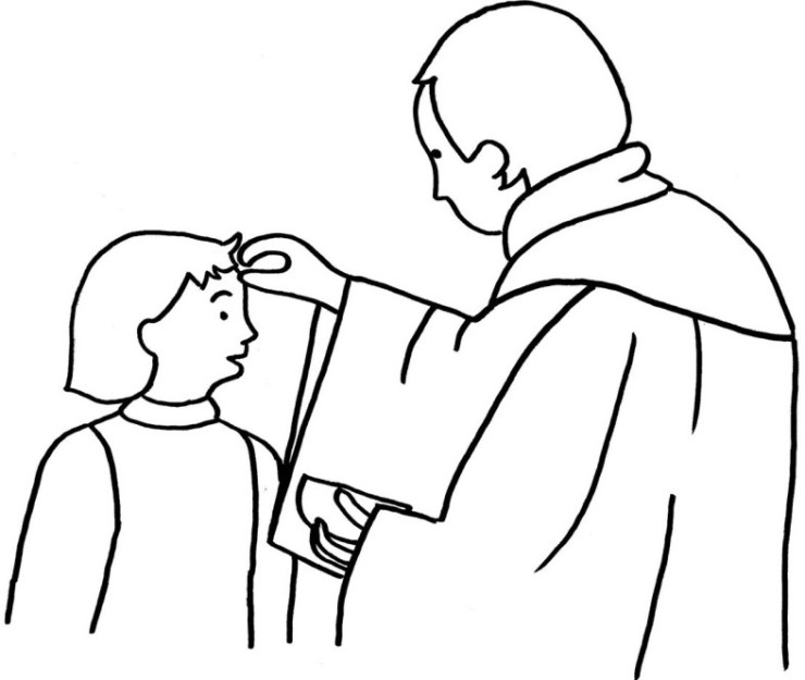 ash wednesday coloring pages printable - photo#18