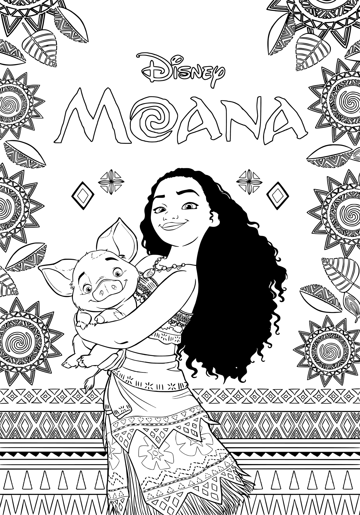 moana coloring pages best coloring pages for kids. Black Bedroom Furniture Sets. Home Design Ideas