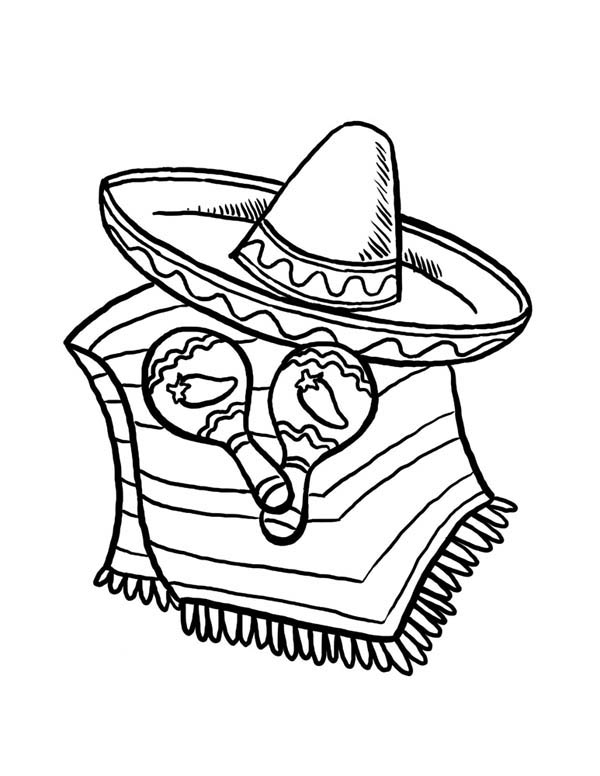 Cinco de Mayo Coloring Pages Printable