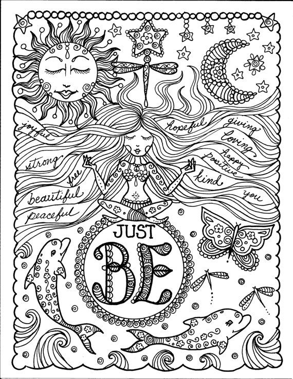 coloring pages for teens free downloads - Coloring Books For Teens