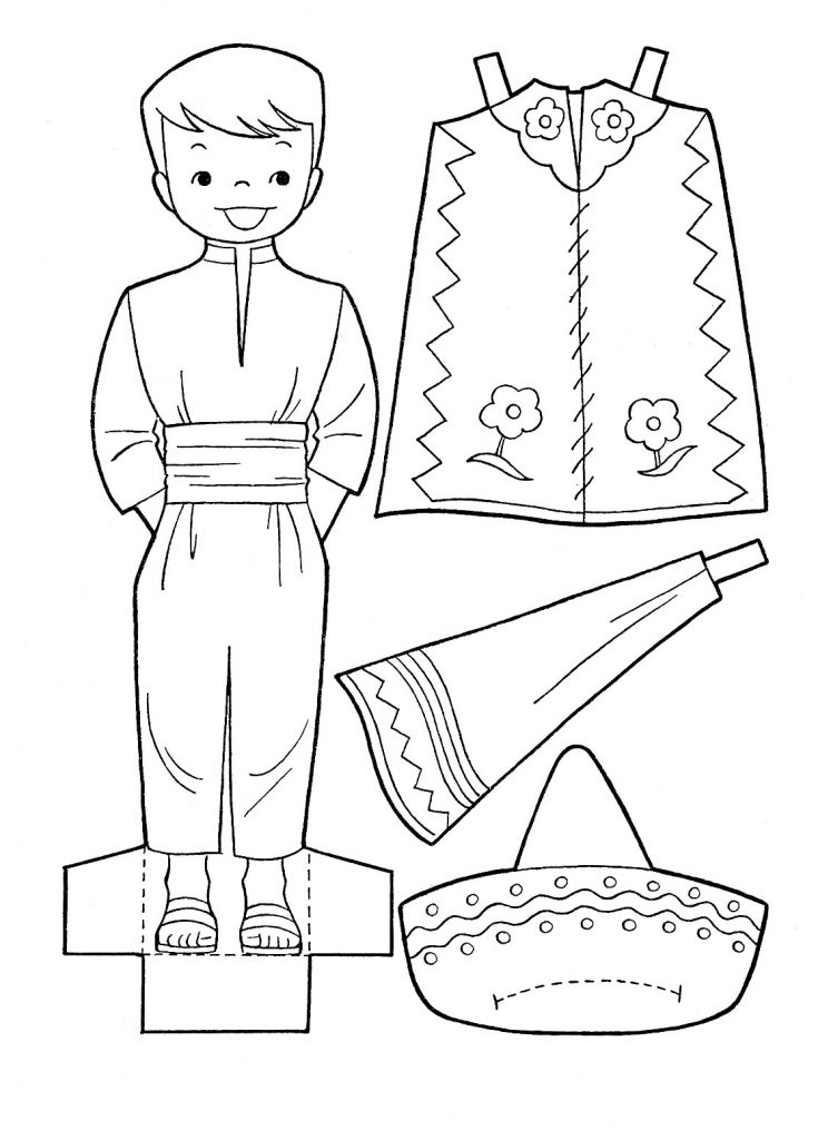 Free Cinco de Mayo Coloring Pages Printable