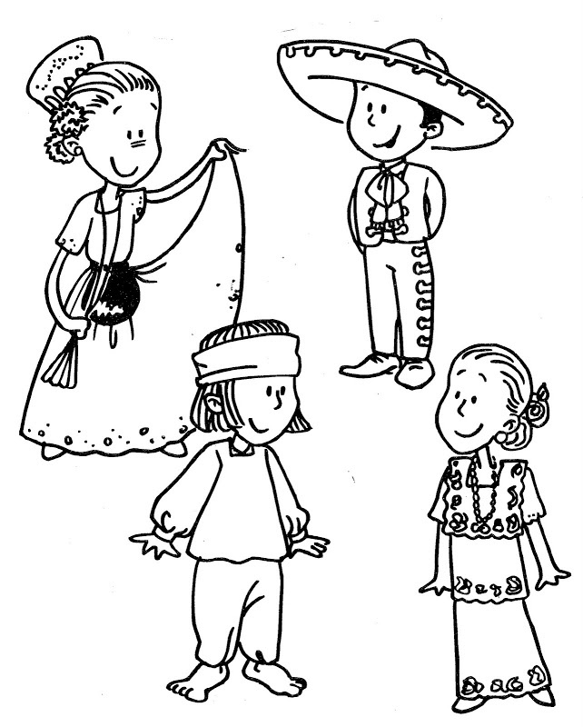 Free Printable Cinco de Mayo Coloring Page