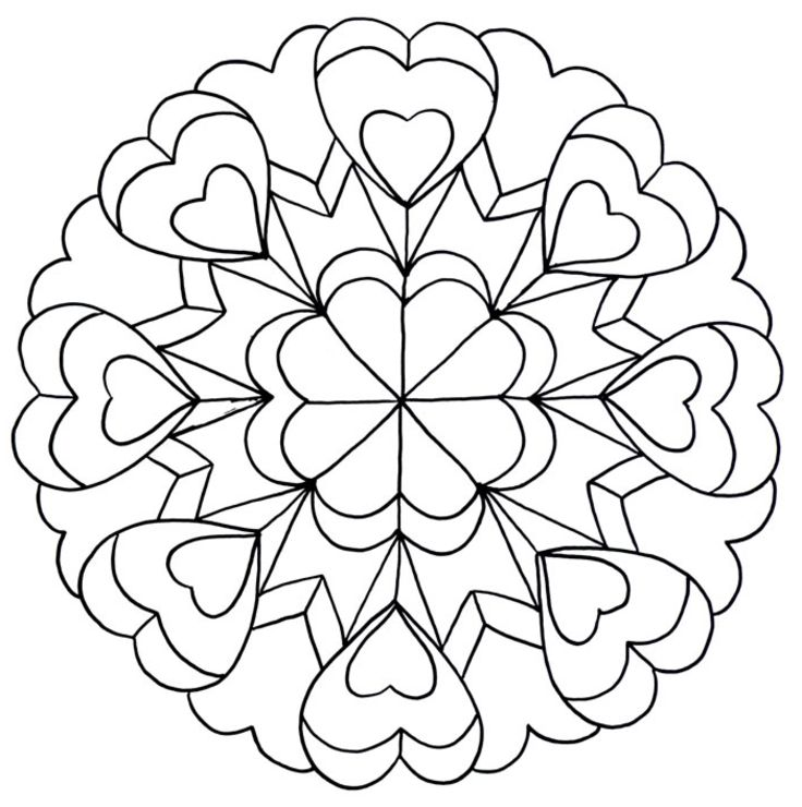 It's just a photo of Refreshing Printable Coloring Pages for Teens