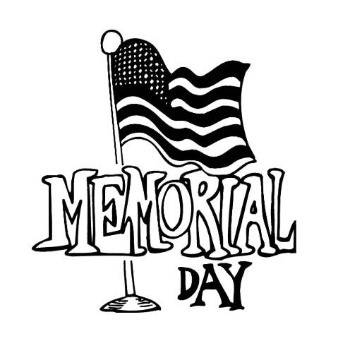 Memorial Day Coloring Pages Free Printable
