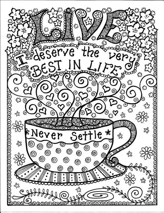 Print Coloring Pages for Teens