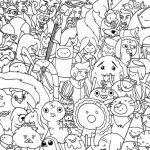 Adventure Time Coloring Page Characters