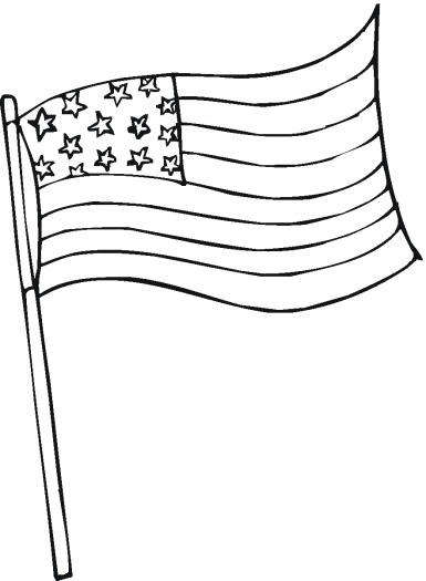 American Flag Coloring Pages Best Coloring Pages For Kids