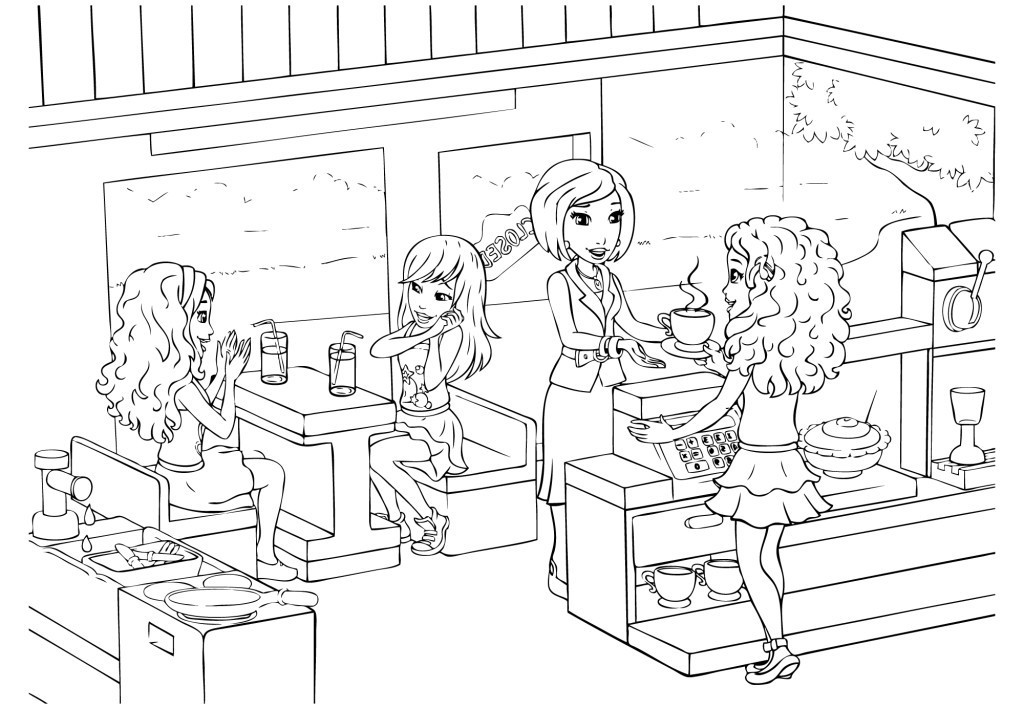 friend coloring pages - photo#28