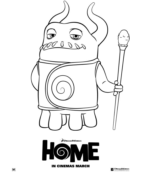 Printable Home Coloring Pages