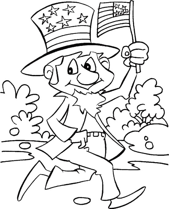 Printables 4th of July Coloring Pages