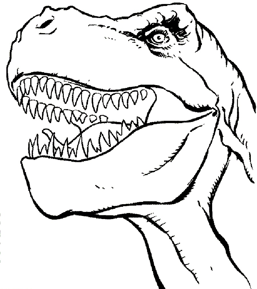 Trex coloring pages best coloring pages for kids - Coloriage dinosaure tyrex ...