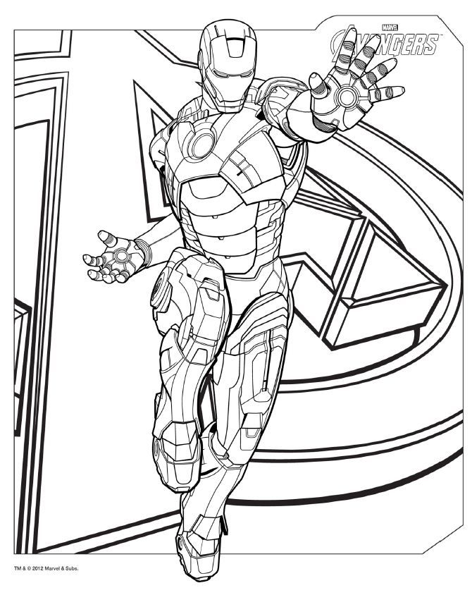 Avengers Coloring Pages - Best Coloring Pages For Kids