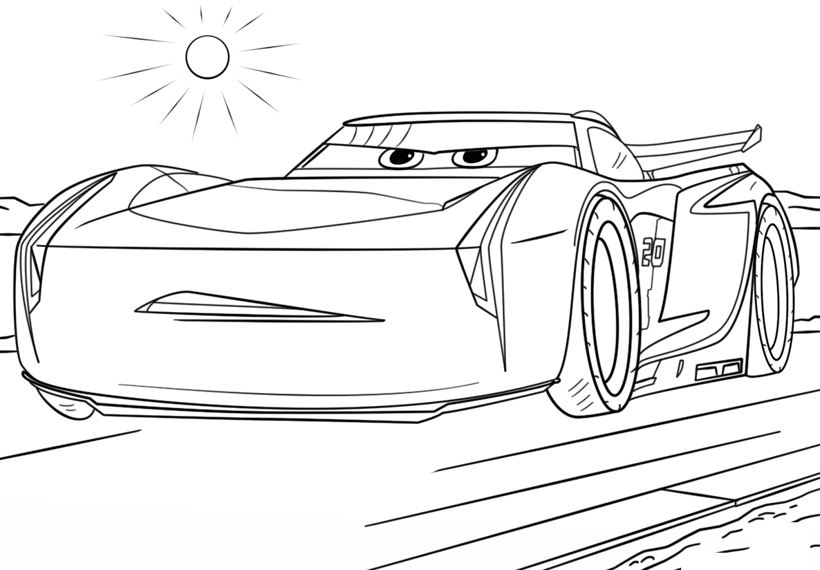 Coloring Pages To Print Of Cars : Cars coloring pages best for kids