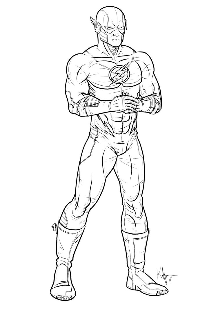 flash gordon coloring pages free - photo#26