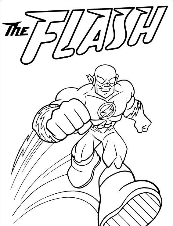 flash gordon coloring pages free - photo#21