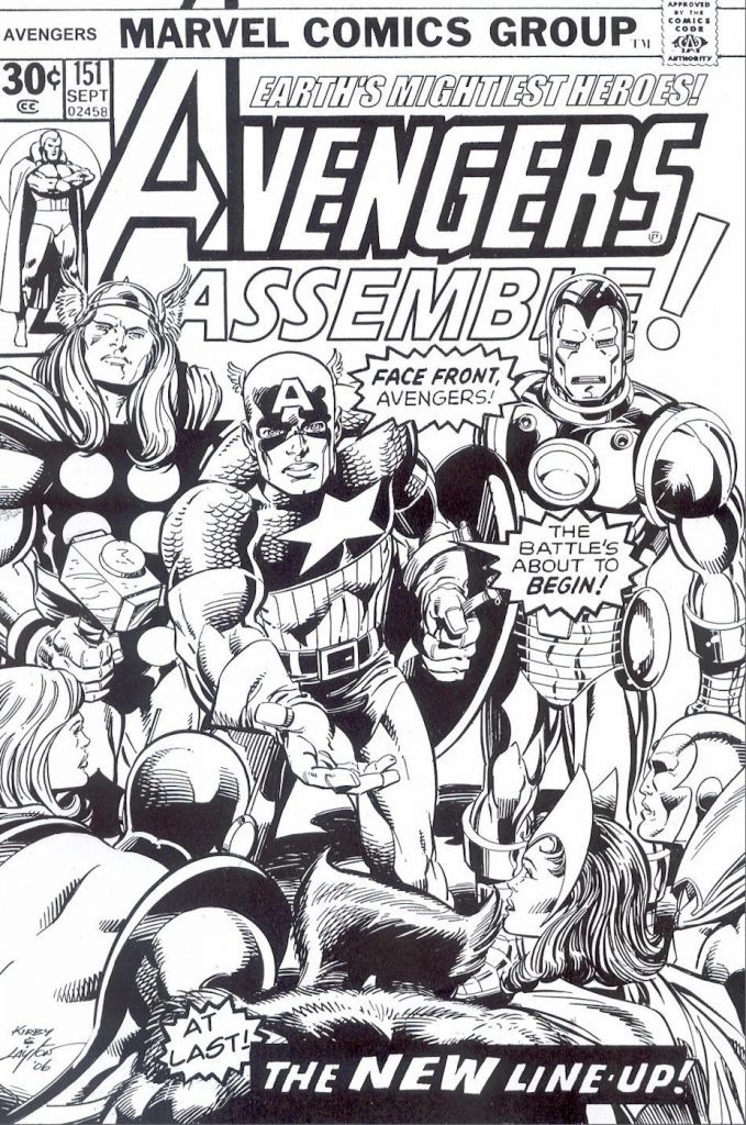 Free Avengers Comic Coloring Page