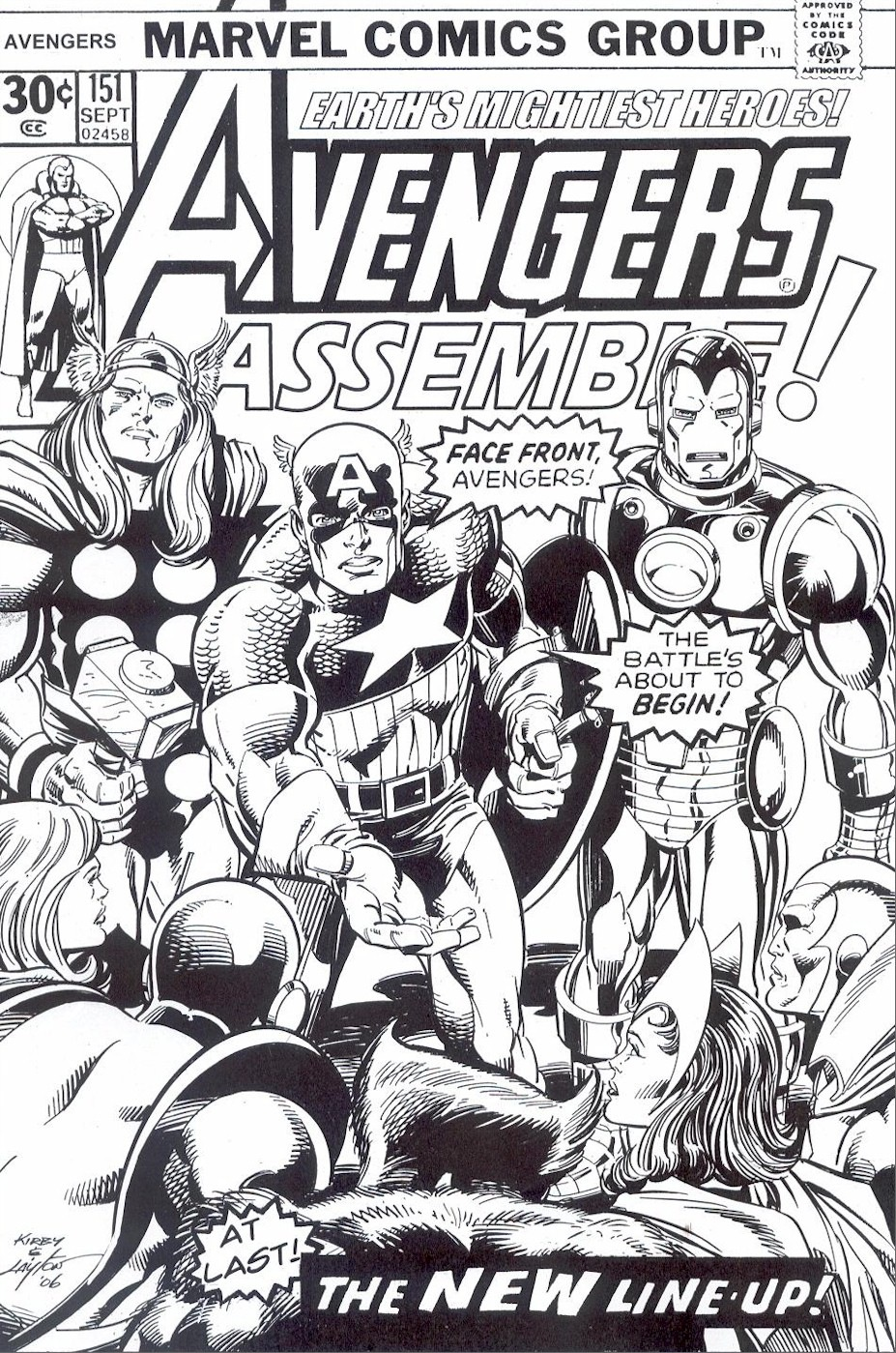 free avengers comic coloring page - Comic Coloring Pages