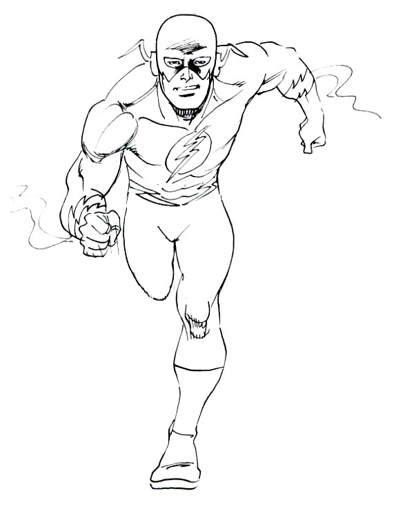 flash gordon coloring pages free - photo#19