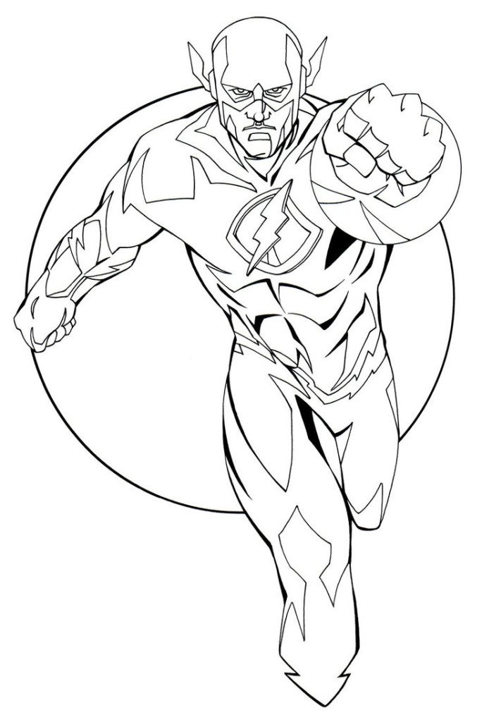 Flash Coloring Pages - Best Coloring Pages For Kids