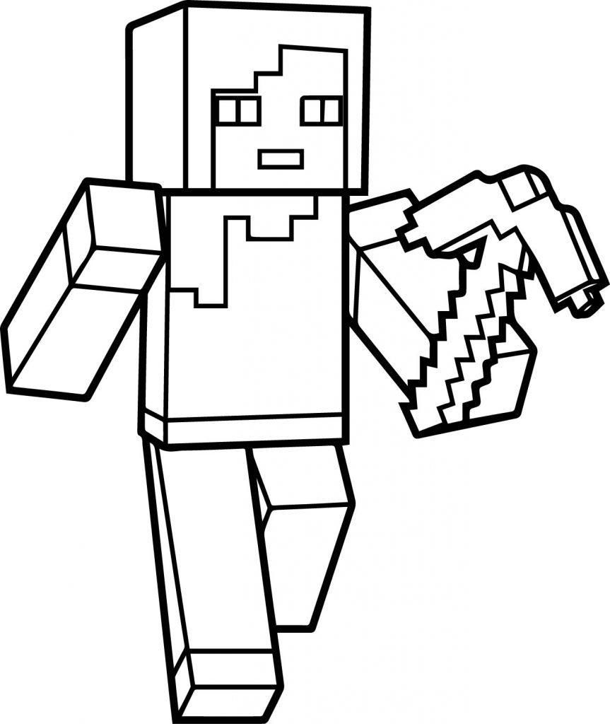 Coloring Pages For Youth : Minecraft coloring pages best for kids