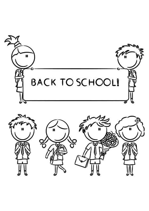 coloring pages back to school - photo#22