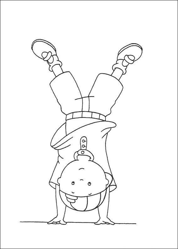 Download Caillou Coloring Pages