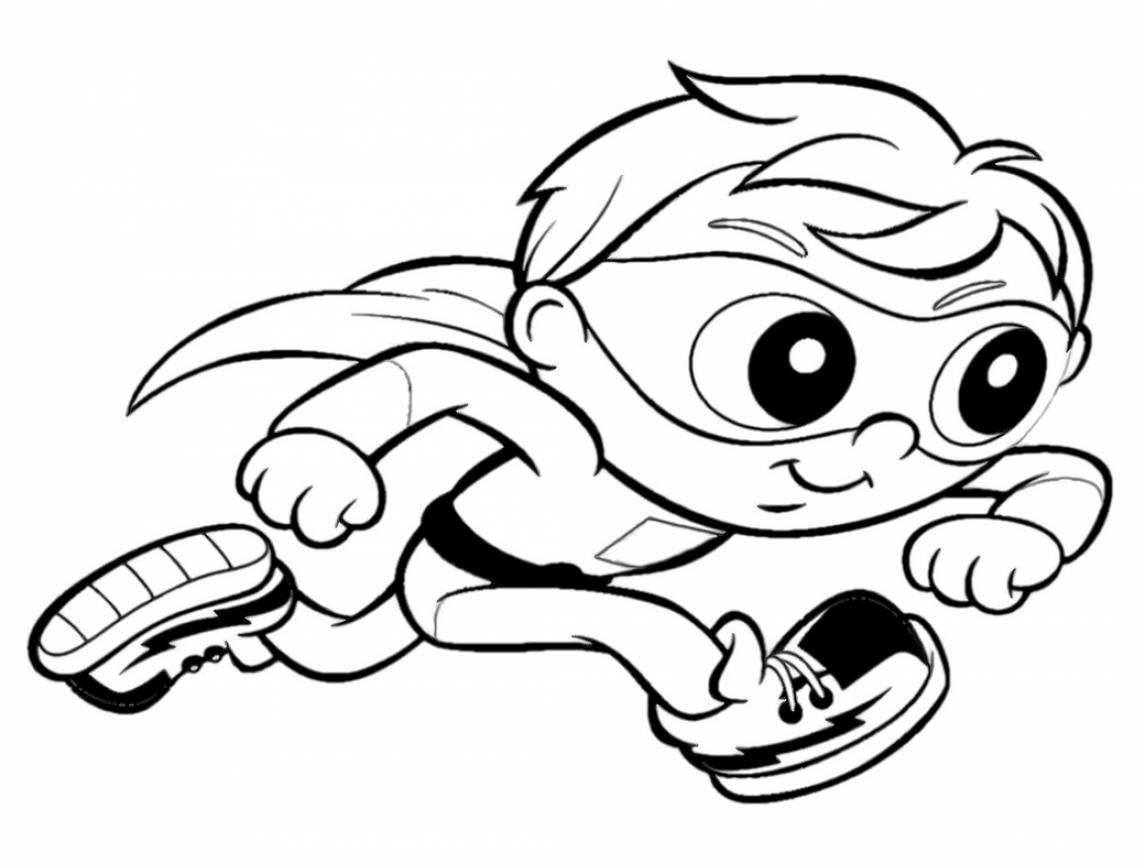 super why coloring pages free - photo#25
