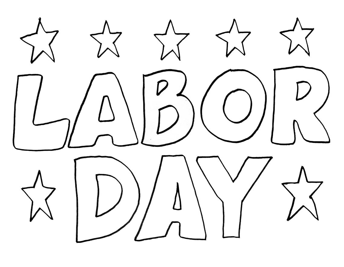 Worksheets Labor Day Worksheets labor day coloring pages best for kids pages