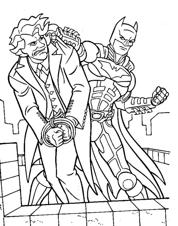 Joker Coloring Pages Printable Best For