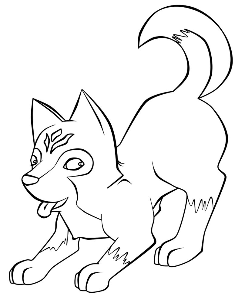 coloring pages huskys - photo#8