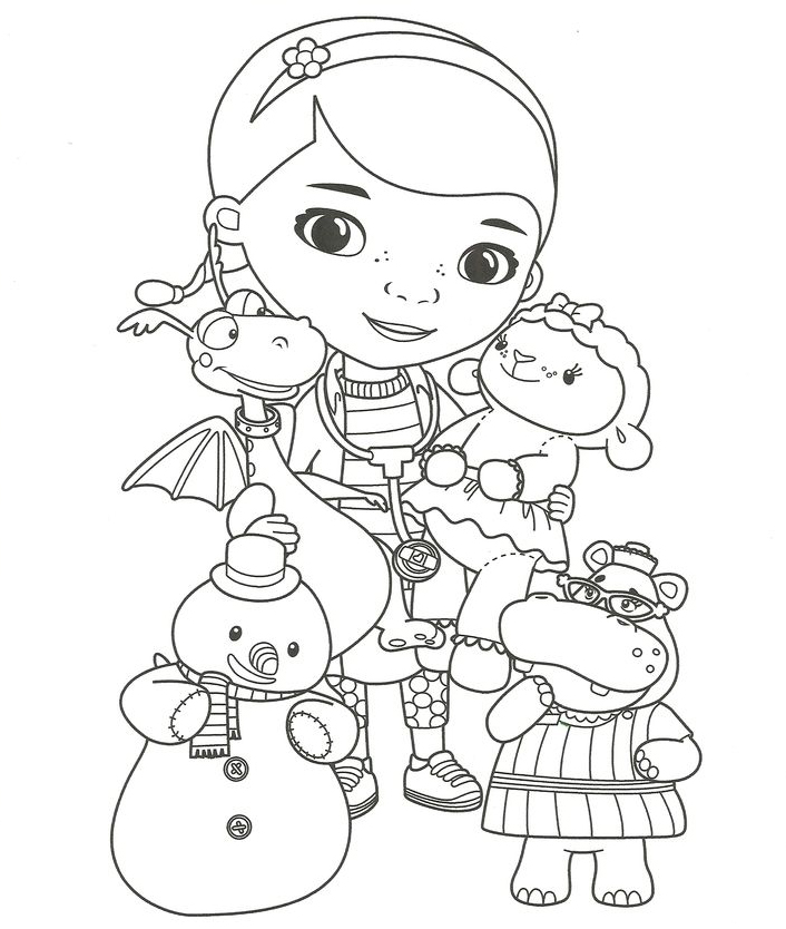 Doc McStuffins Coloring Pages - Best Coloring Pages For Kids