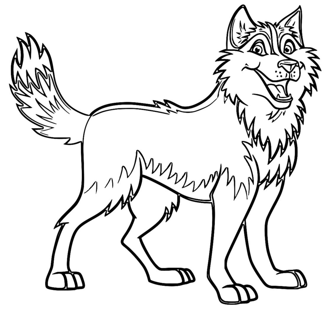 Husky coloring pages best coloring pages for kids for Collie coloring pages