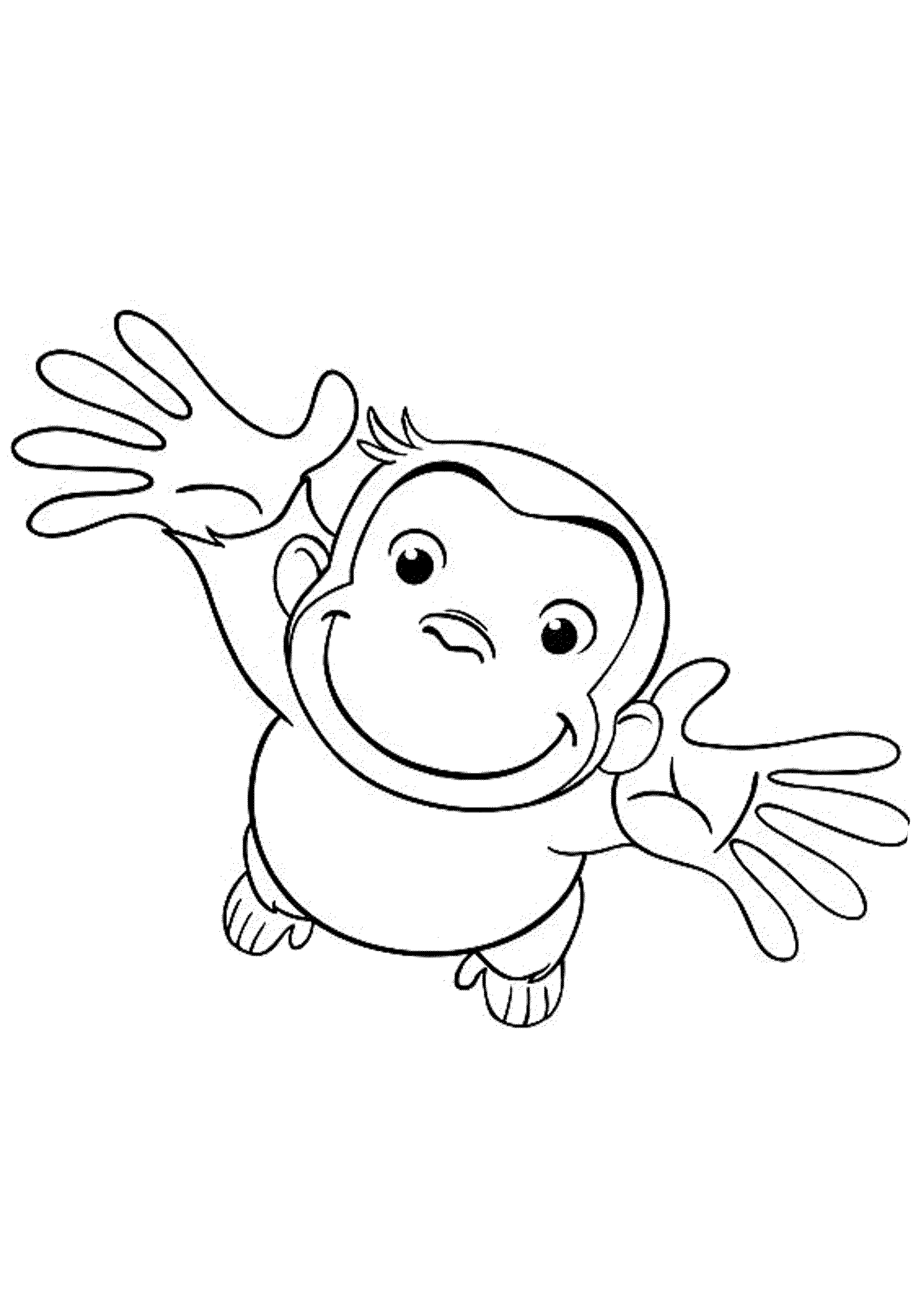 It is an image of Adorable Printable Coloring Pages for Toddlers