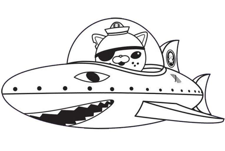 color octonauts - Printable Octonauts Coloring Pages