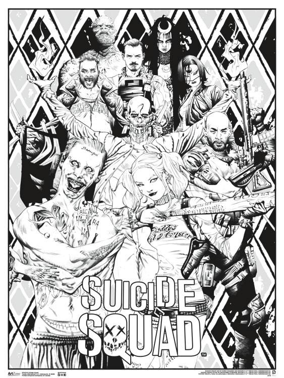 Color Suicide Squad
